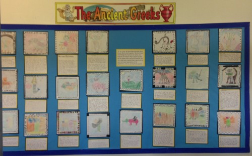 mythical creatures display