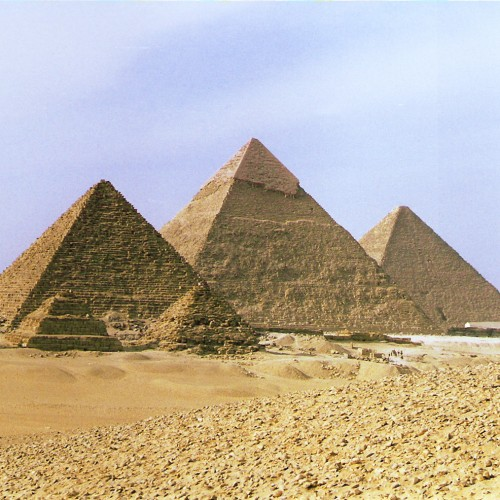 how to build a lego pyramid