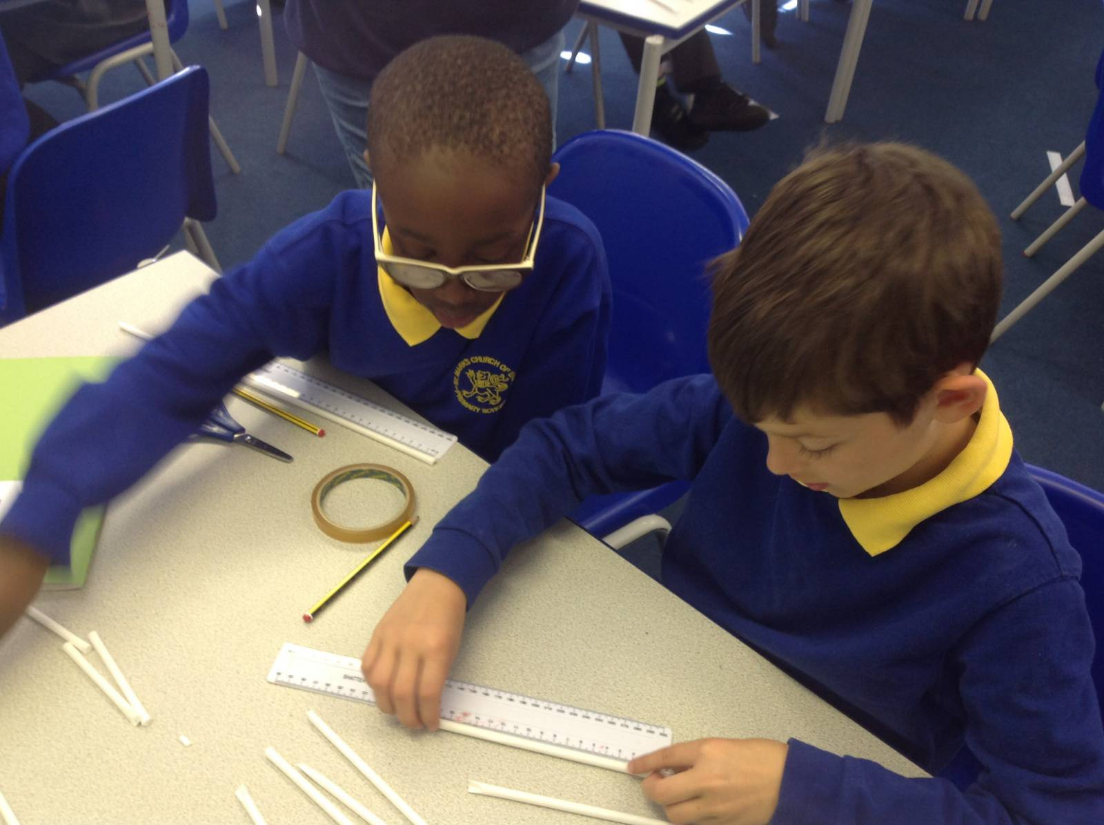 Making 3d Shapes St Mark 39 S C Of E Primary School