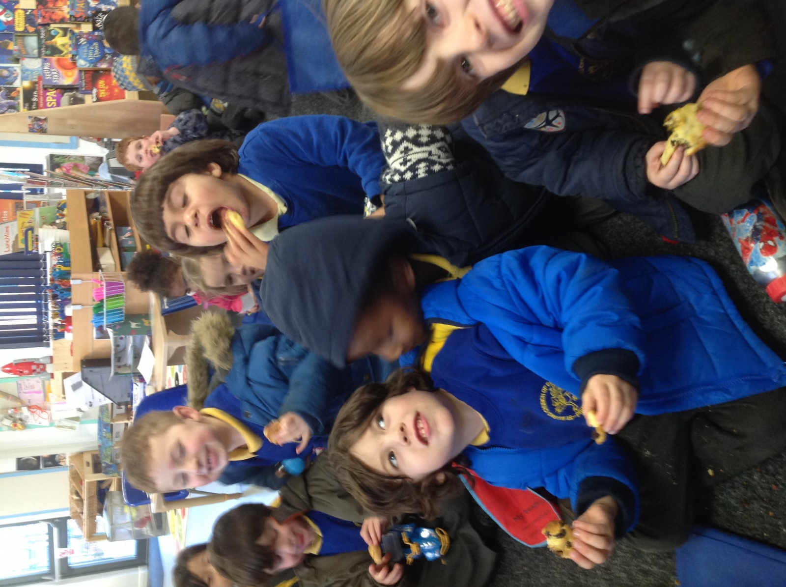 Moon Crater Cakes St Marks C Of E Primary School